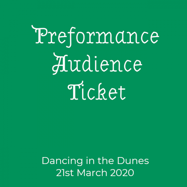 Performance Audience Ticket